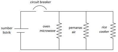contoh aplikasi rangkaian listrik